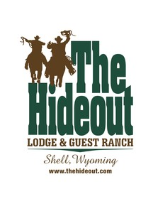 The Hideout Lodge and Guest Ranch Logo