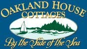 Oakland House Cottages by the Side of the Sea Logo