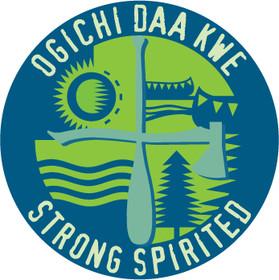 Camp Ogichi Daa Kwe Logo