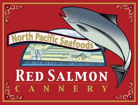 North Pacific Seafoods, Inc - Red Salmon Cannery Logo