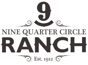 Nine Quarter Circle Ranch Logo