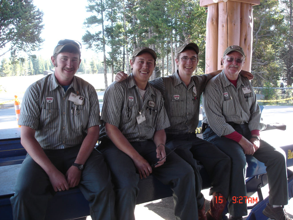 yellowstone park service stations inc summer jobs work and previous