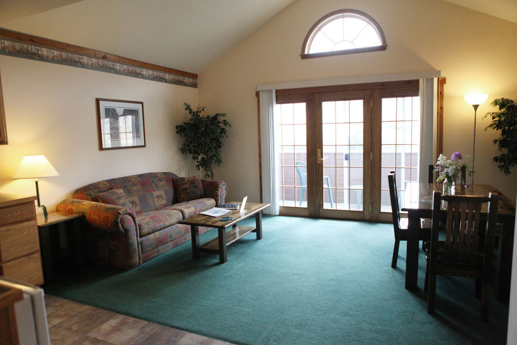 Yellowstone suite living room interexchange
