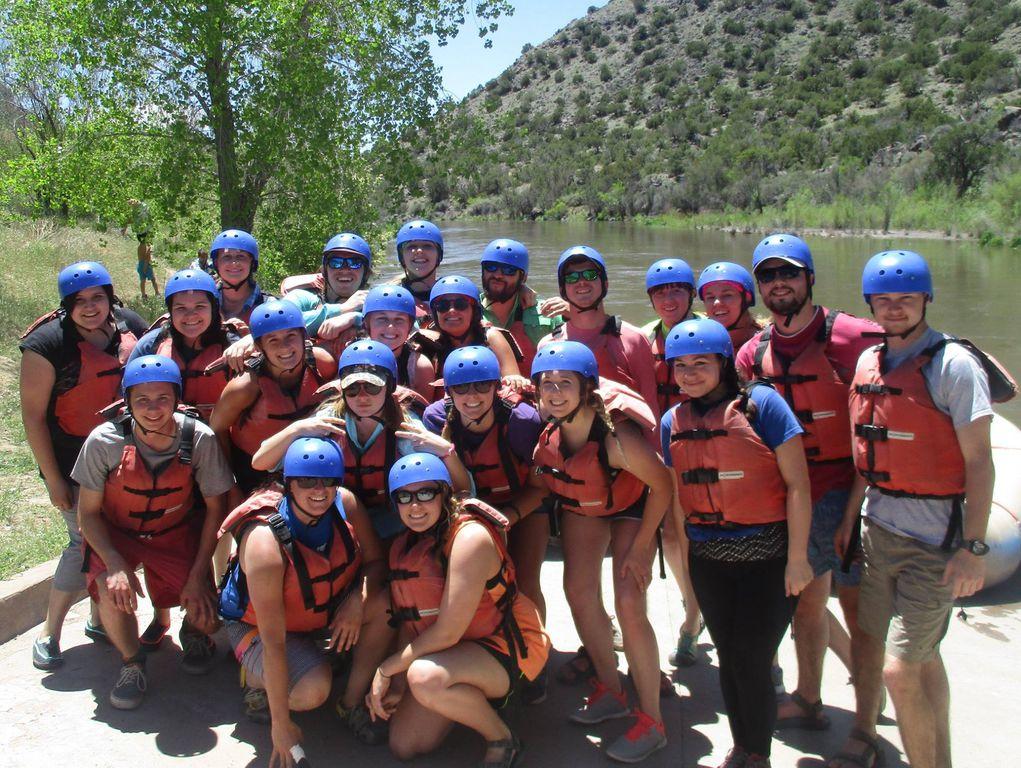 Staff rafting 2016
