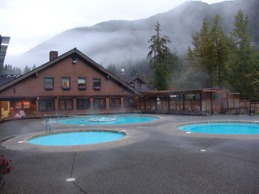 Sol duc hot springs pools