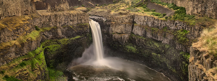 Hero washington palouse falls