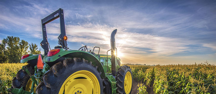 Hero farm and garden jobs   byron corn field